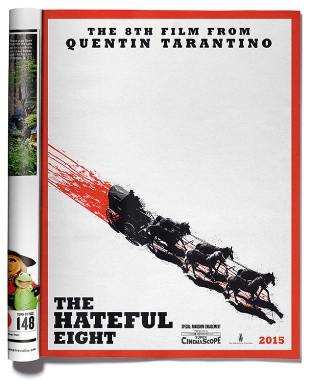 The Hateful Eight: Tarantino lancia il primo poster