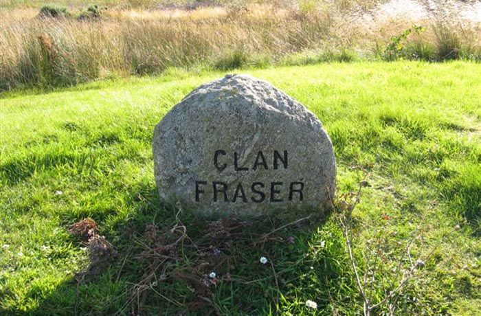Lapide del Clan Fraser a Culloden