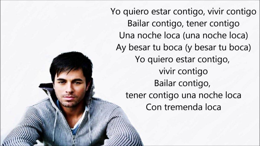 Sai Cosa Canti Traduzione Di Bailando Di Enrique Iglesias