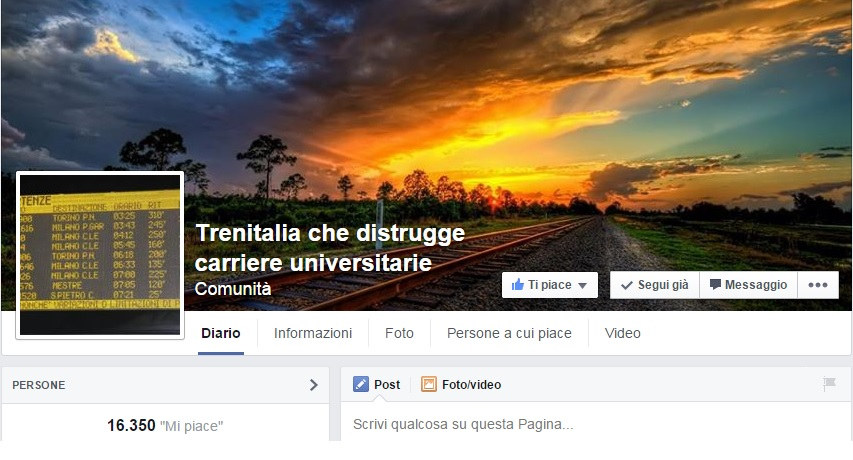 trenitalia che distrugge carriere universitarie