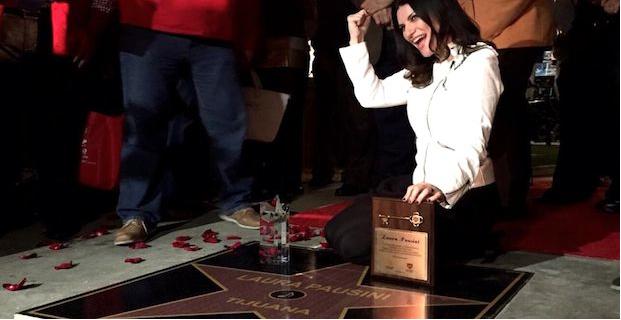 Laura Pausini prima sulla Walk of Fame di Tijuana