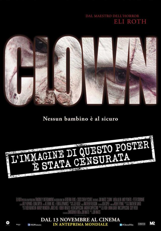 Clown, PosterCensurato
