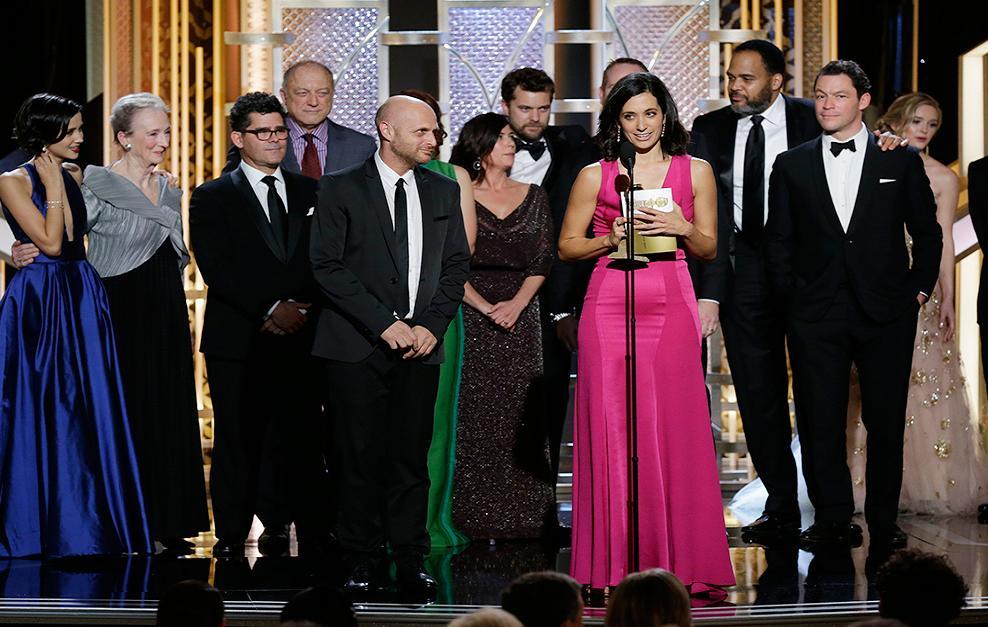 Cast e produzione di 'The Affair' ritirano il premio