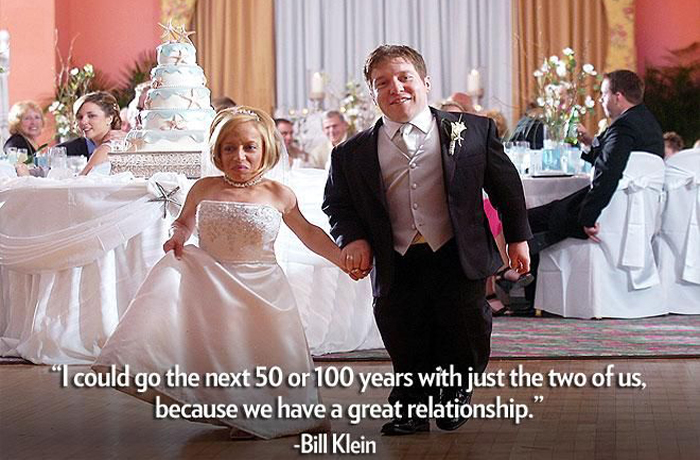 Bill e Jen svelano il segreto del loro matrimonio felice