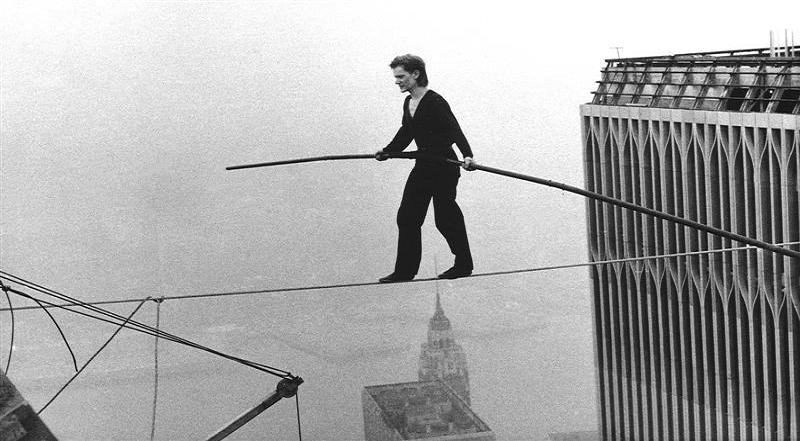 Philippe Petit e la traversata delle Twin Towers