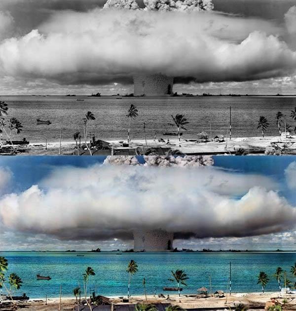Fotografie in bianco e nero ricolorate: la storia si fa più vicina
