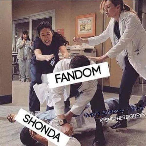 Grey's Anatomy: il mondo contro Shonda Rhimes a colpi di meme