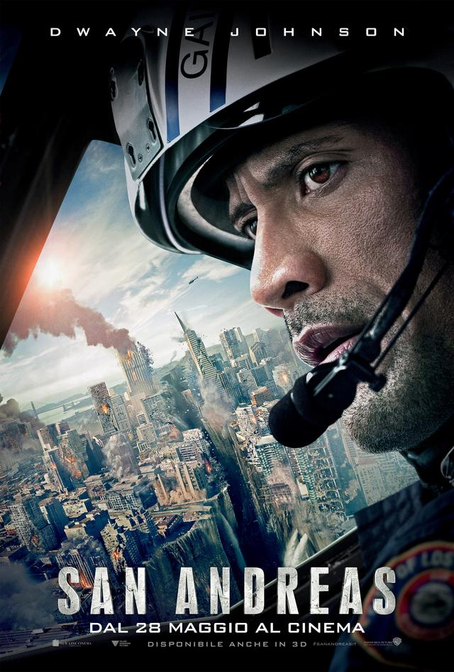 Curiosità su San Andreas, il nuovo disaster movie con The Rock
