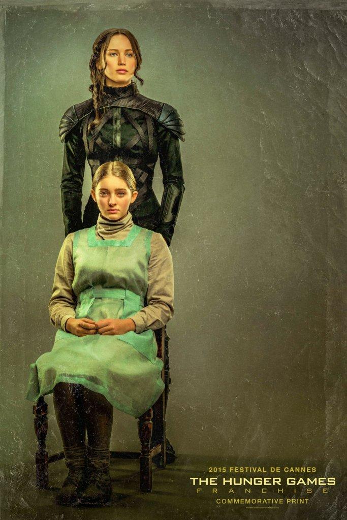 Hunger Games, il ritratto delle sorelle Katniss e Prim