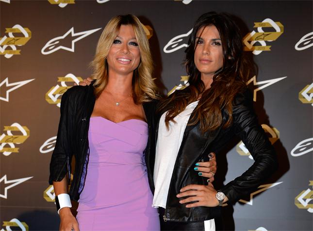 Maddalena Corvaglia ed Elisabetta Canalis