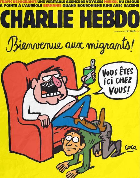 Le due vignette di Charlie Hebdo su Aylan (ma una è un fake?)