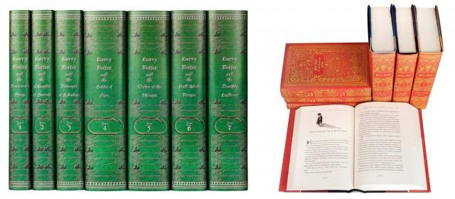 Harry Potter: i nuovi libri nei colori delle case di Hogwarts