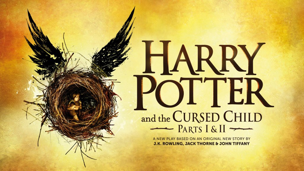 """La locandina ufficiale di """"Harry Potter and the Cursed Child"""""""