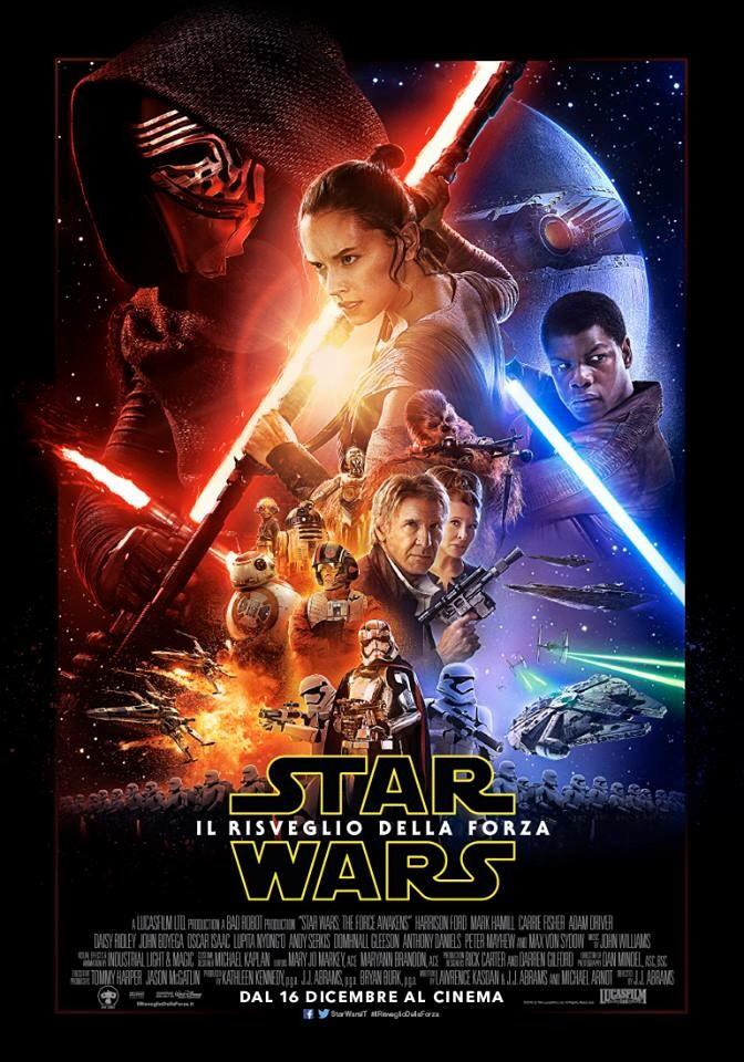 Star Wars - Il risveglio della forza: ecco la locandina ufficiale