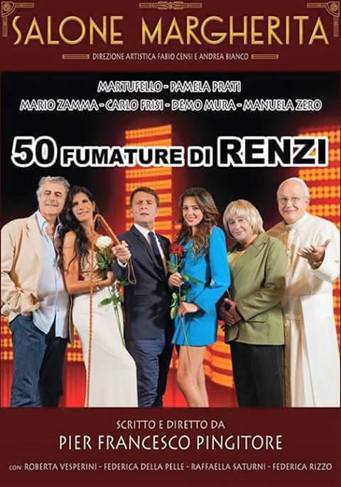 50 sfumature di Renzi: il Bagaglino, la satira e il premier