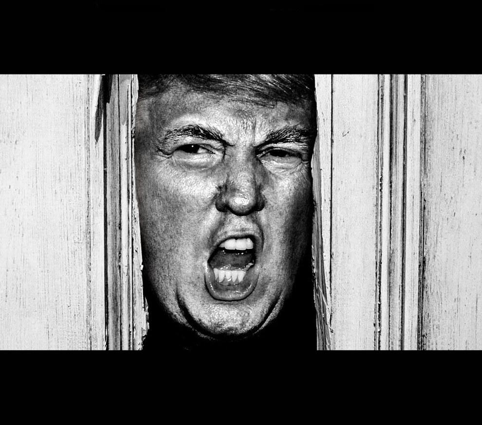 Se Donald Trump diventa icona del cinema horror