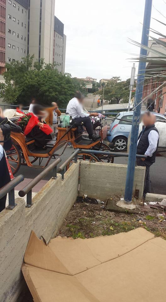 Oltre il trash a Catania: arrivano le Lauree in carrozza