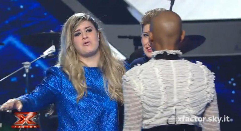 X Factor 9: la rabbia di Eleonora contro Skin (VIDEO)