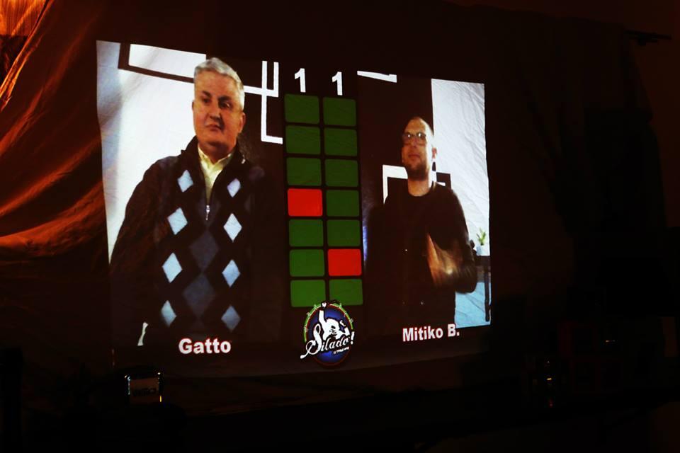 Gabriele Sbattella e sfidante durante un 7x30