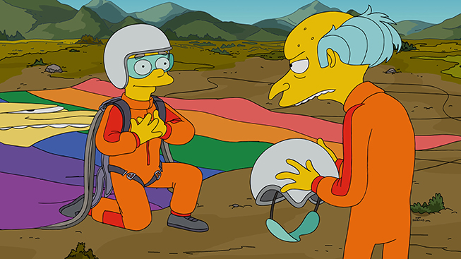 I Simpson il coming out di Smithers La dedica dell'autore al figlio gay