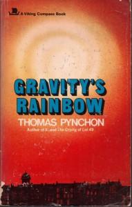 La prima edizione di 'Gravity's Rainbow', curata da Viking (1973)