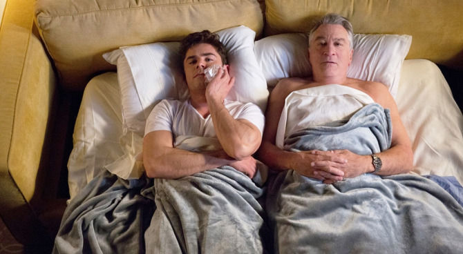 """Robert De Niro e Zac Efron in """"Nonno scatenato"""""""