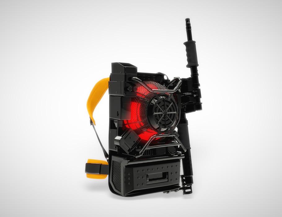 Dispositivo Ghostbusters il pesce d'aprile della Sony
