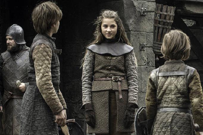 La giovanissima Lyanna Stark nella visione di Bran
