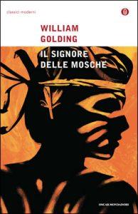 """Copertina de """"Il Signore delle mosche"""" dell'Oscar Mondadori."""