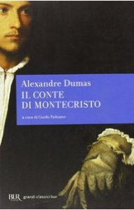 """Copertina de """"Il conte di Montecristo"""" dell'edizione Bur."""