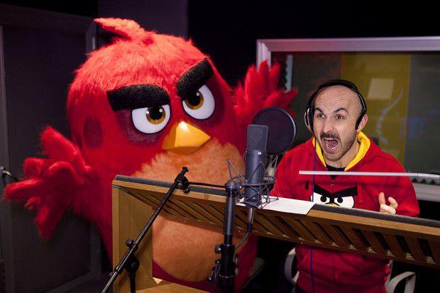 Angry birds il film  il doppiaggio italiano
