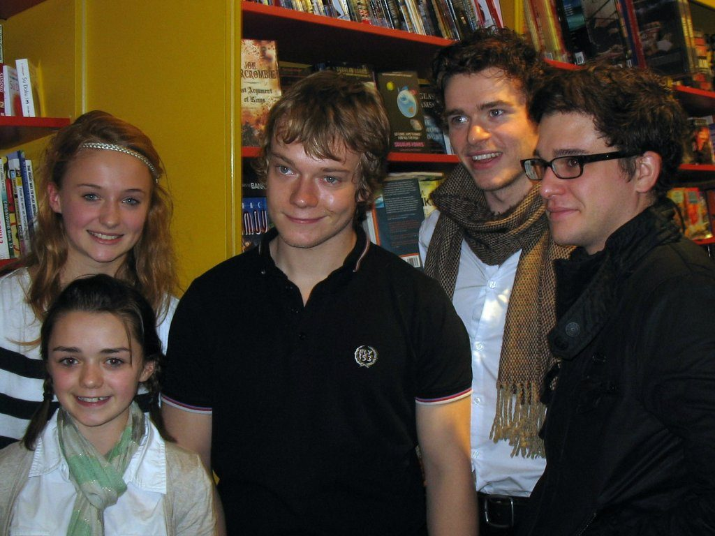 Game of Thrones: i bellissimi fratelli Stark 2009 (FOTO)