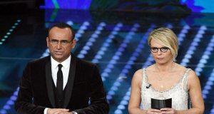 Festival di Sanremo 2017: seconda serata in calo, ospiti di stasera
