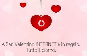 Vodafone 4GB in regalo a San Valentino