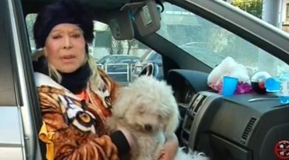 Isabella Biagini, l'attrice che vive in auto