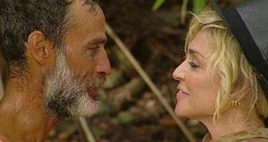Raz Degan e Paola Barale una notte insieme sull'Isola