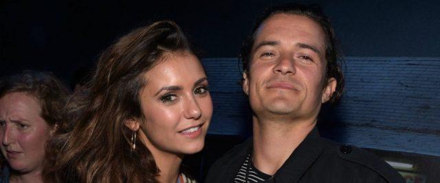 Nina Dobrev e Orlando Bloom