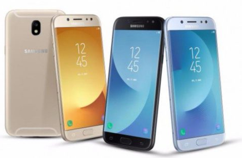 Samsung Galaxy J3 2017, Samsung Galaxy J5 2017 e Samsung Galaxy J7 2017