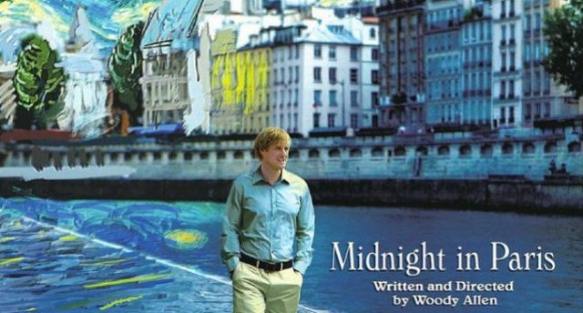 Midnight in Paris film ambientati a parigi