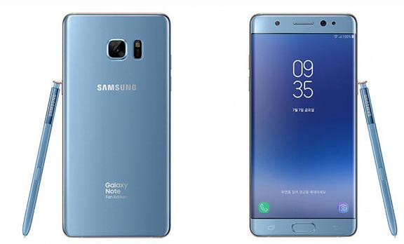 Samsung Galaxy Note 7 Fan Edition specifiche tecniche ufficiali