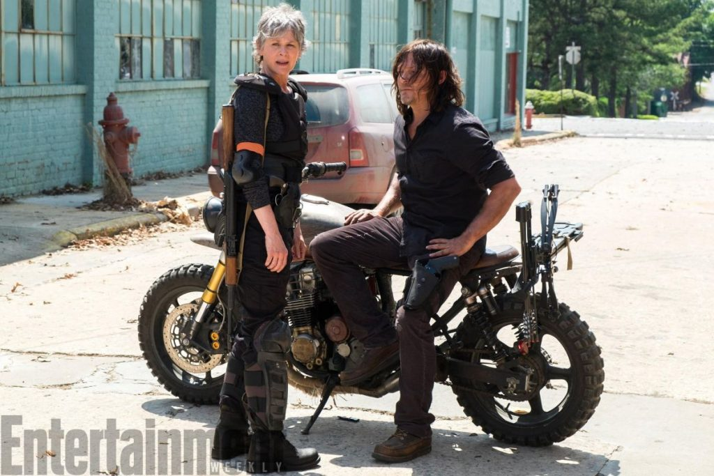 Daryl e Carol The walking dead 8