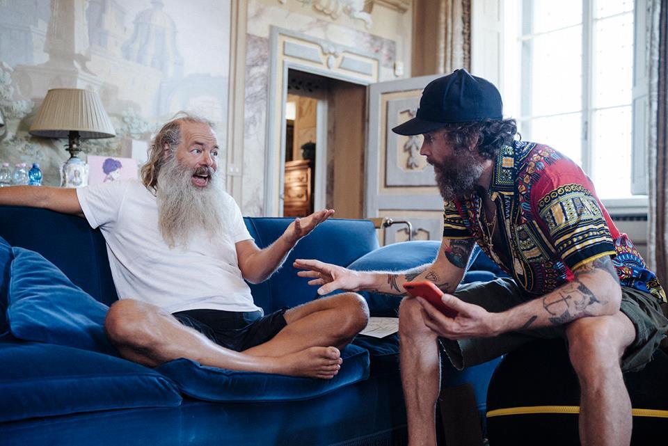 Jovanotti e Rick Rubin