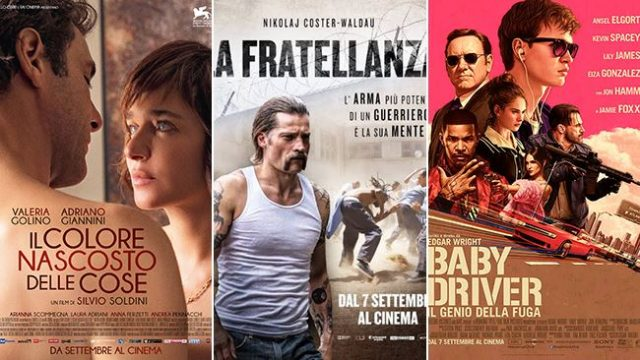 weekend al cinema 9 e 10 settembre