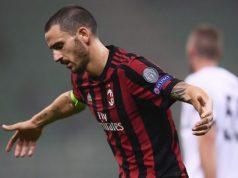 Milan, pareggio scialbo e Bonucci alza la voce