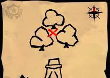fortnite mappa del tesoro