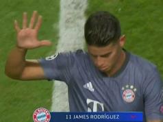 James Rodriguez manita Benfica