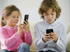 bambini e smartphone pericolo