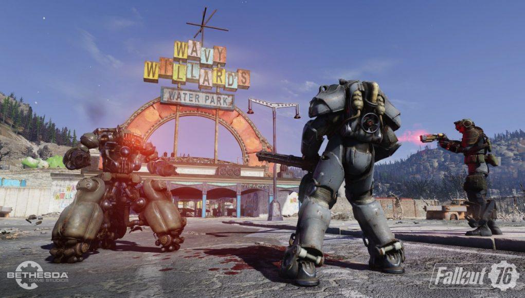 Fallout 76 crash bug nuke