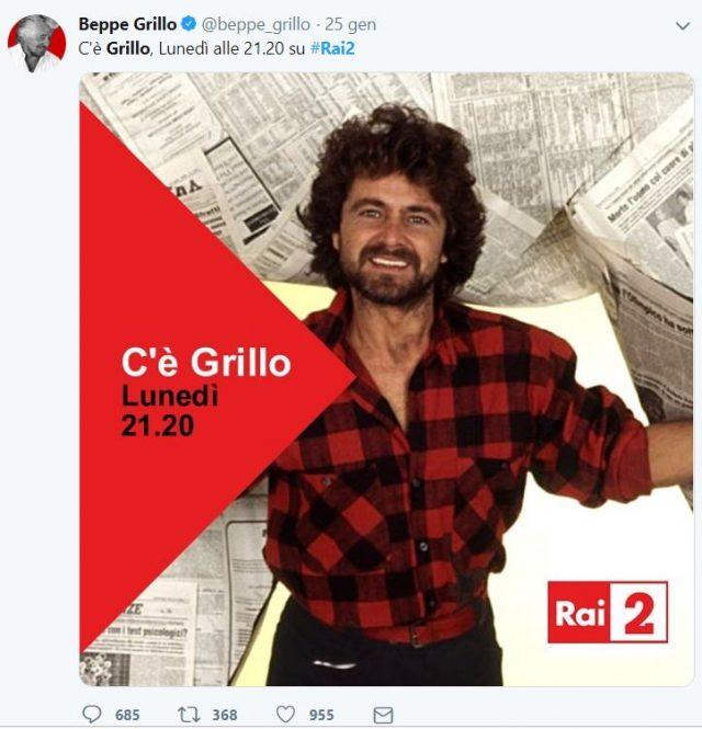 C'è Grillo polemica Freccero